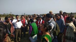 Displaced people of Dodhia forest village not willing to be shifted to Jonai: Dibrugarh DC 4