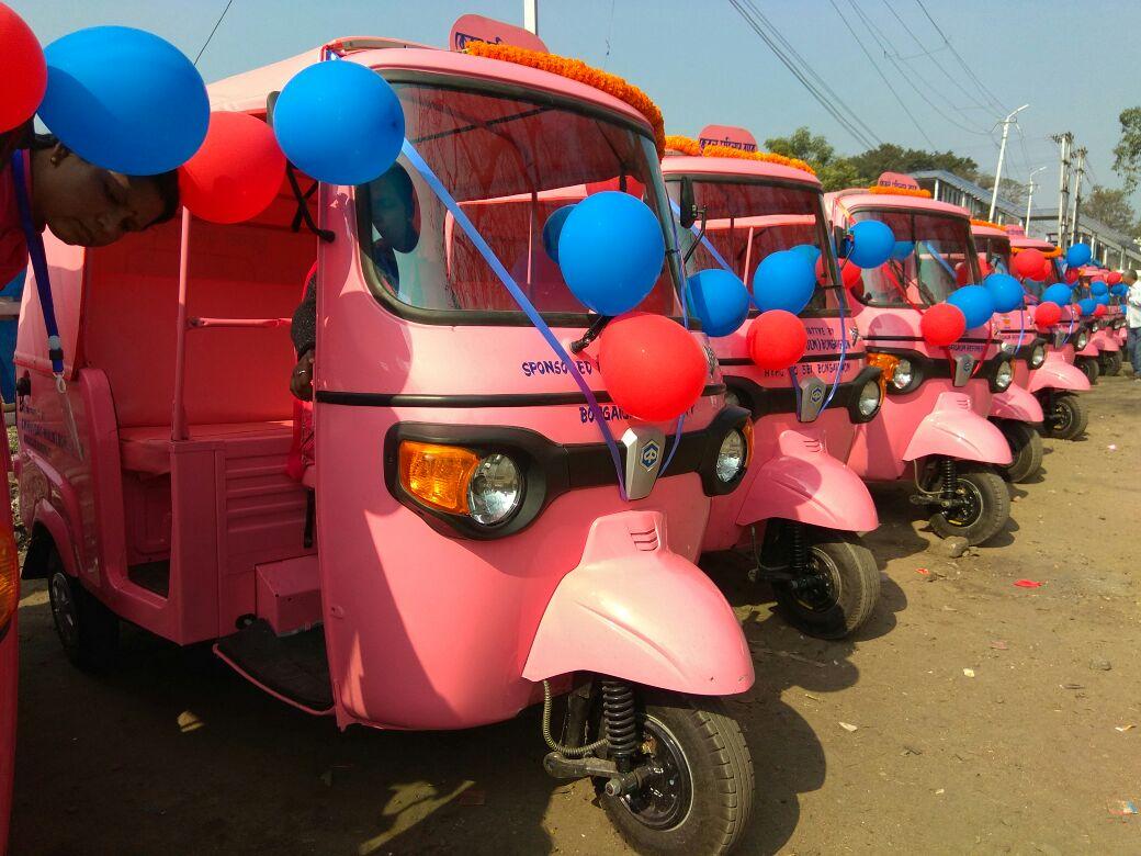 Pink auto-rickshaws now at women passengers' service in Bongaigaon town 1
