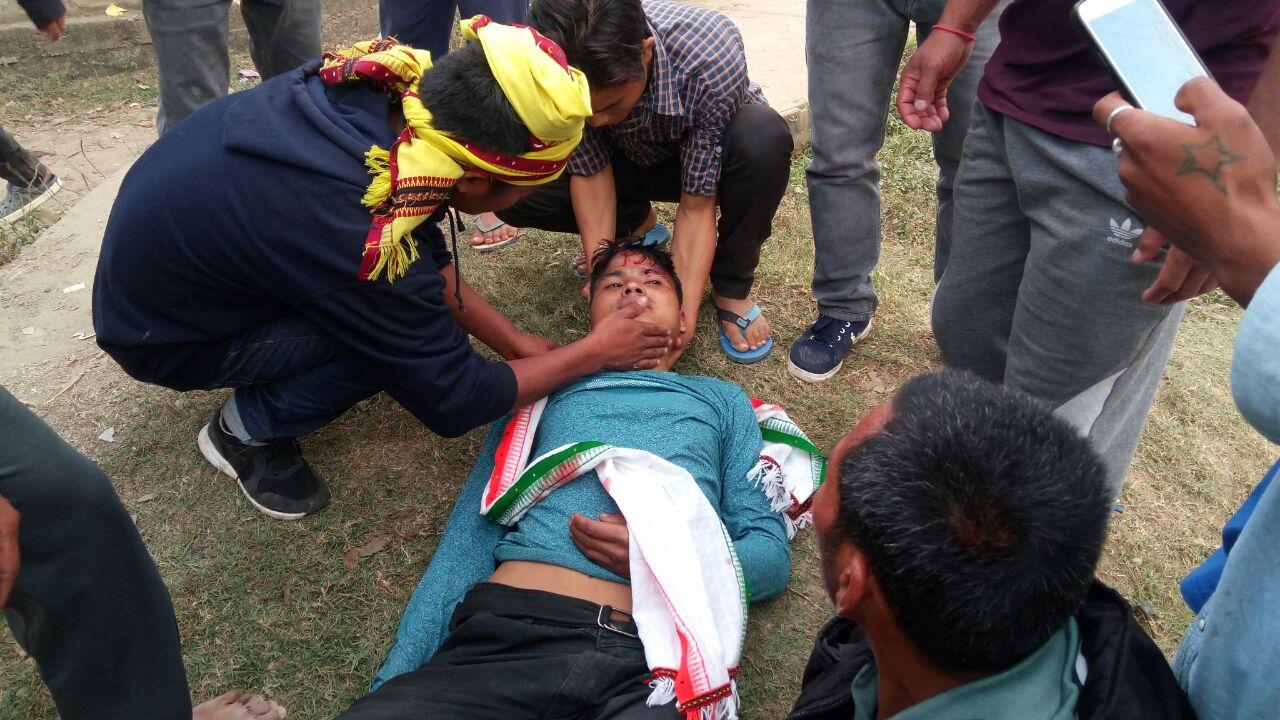 Prabin, who was seriously injured in police firing at Maibang, died on way to Guwahati