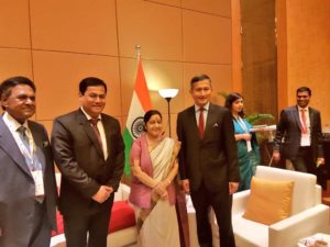 Assam Chief Minister meets Singapore Foreign Minister 4
