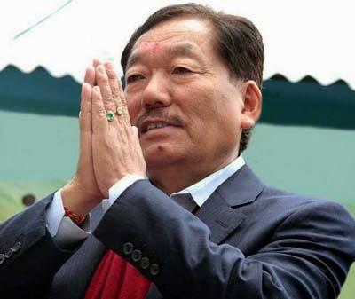 Sikkim Chief Minister Pawan Chamling