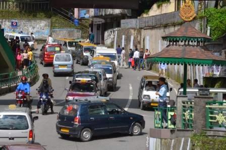 Sikkim traffic