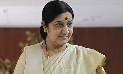 File photo: Indian External Affairs minister Sushma Swaraj