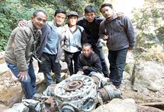 Arunachal locals find wreckage of World War II US plane 1