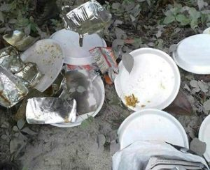Trails of littered picnic trashes by Assam picnickers in Bhutan left citizens red-faced 1