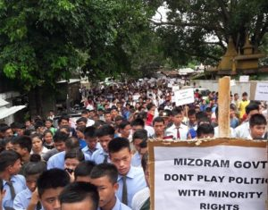 The imposing shadow of Young Mizo Association on Mizoram elections 1