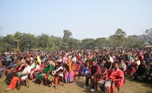 NPP president Conrad Sangma kicks off election campaign 2