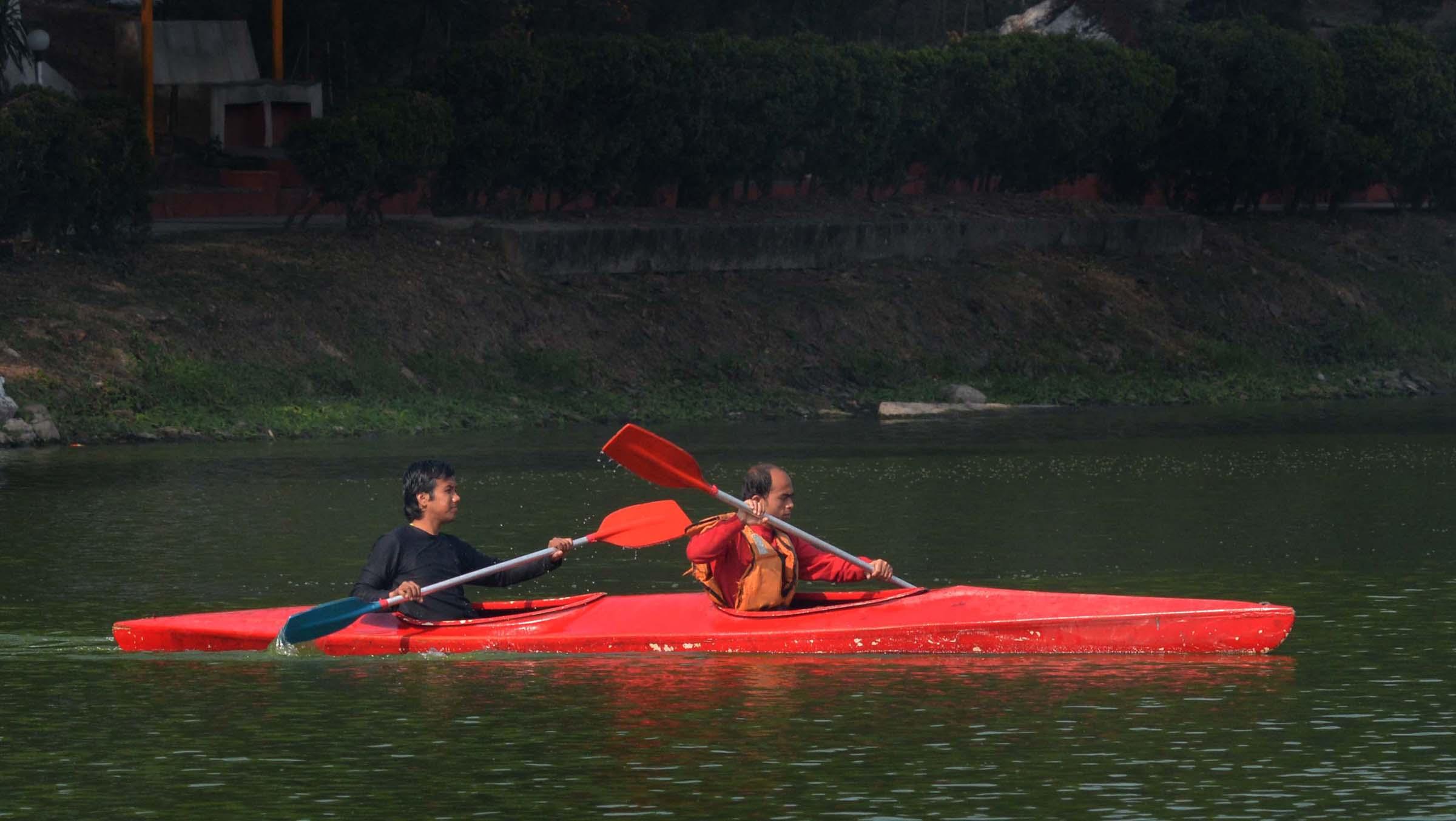 kayaking event
