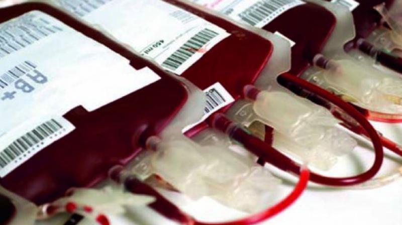 e-blood bank