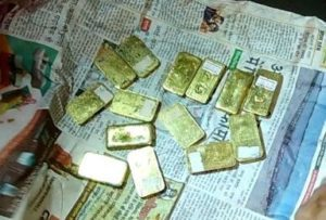 Two held at Jorhat airport for smuggling gold 1