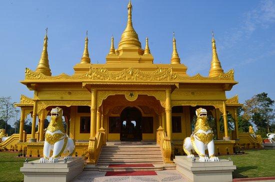 Tourists' inflow hurting sanctity of Arunachal's Golden Pagoda 1