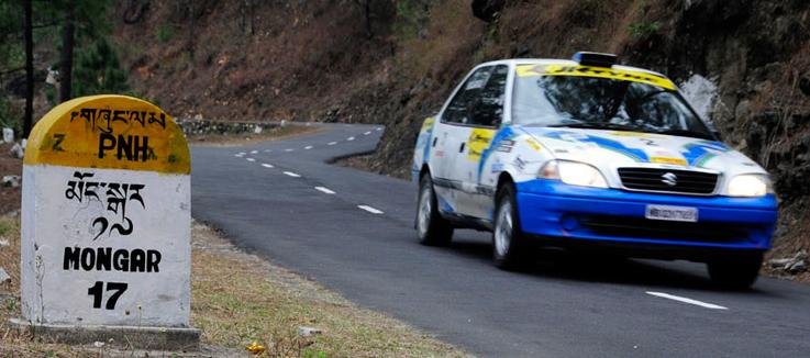 indo-bhutan car rally