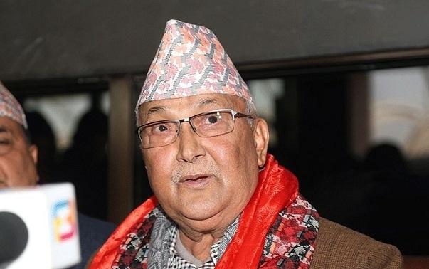 File photo: Nepal Prime Minister KP Sharma Oli
