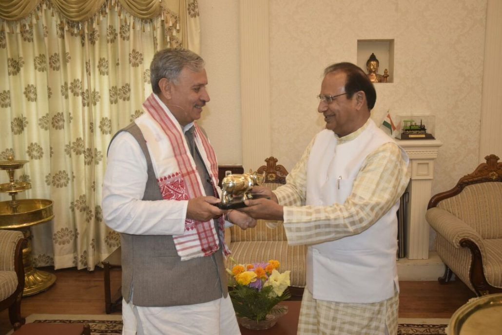 1Union Minister meets Governor