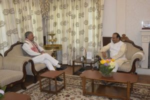 2 Union minister meets Governor