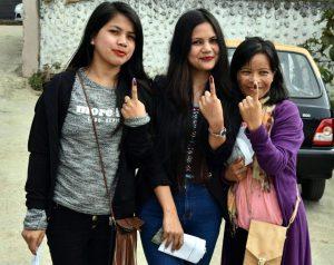 27-02-18 Meghalaya- peoples casting vote (28)