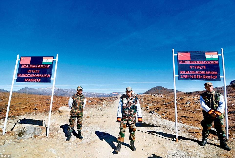 Arunachal China border