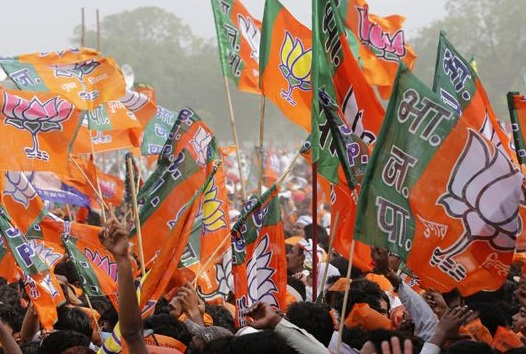 BJP-FLAG-SUPPORTERS