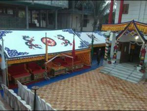 Bhutan consulate interior