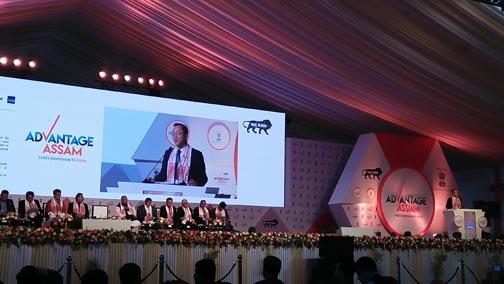 China-india discussion at advantage assam