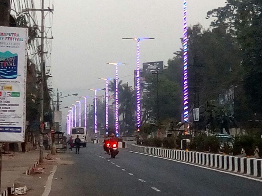 Guwahati city illumination