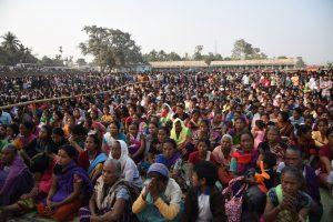 Crowd at New Bhaitbari