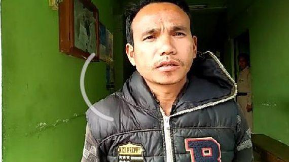 Deben Terang at Diphu Police Station