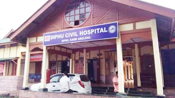 Diphu Civil Hospital where the victim is undergoing treatment.