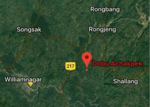 Dobu Achakepak, the exact location where Sohan D Shira was killed.