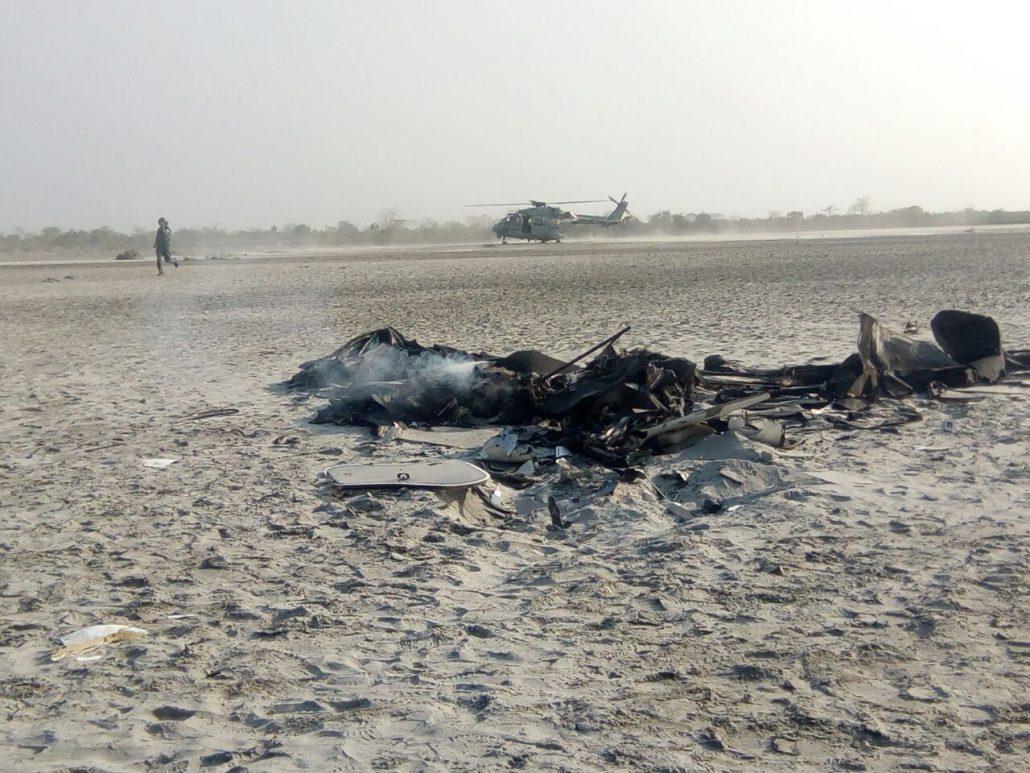 Wreckage of an  aircraft (Representative image)