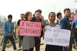 TISS, Guwahati students protest fee hike, aid withdrawal 2