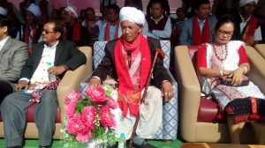 Karbi King Ramsing Ronghang at KYF on Friday.