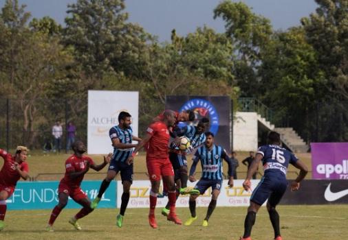 Lajong FC Vs Minerva Punjab