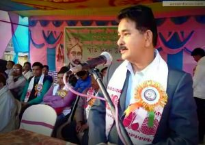 Maniram Dewan being recalled in Udalguri.