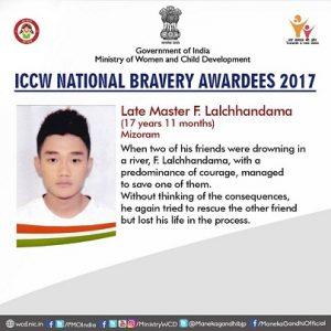 Mizo braveheart Lalchhandama to receive Sarvottam Jeevan Raksha Padak posthumously 1