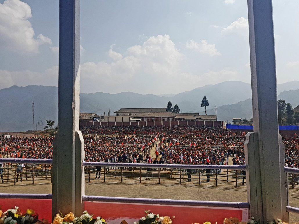 Modi rally in Nagaland