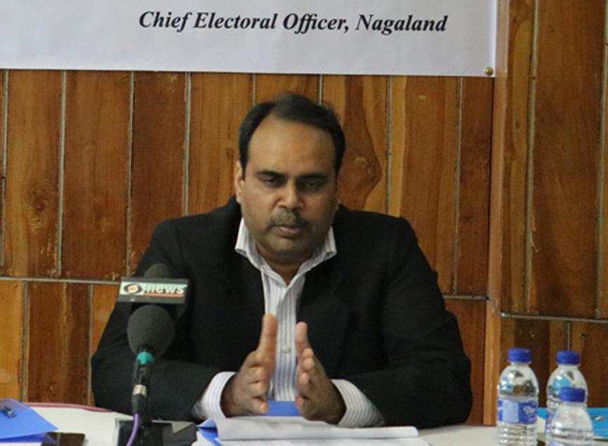 Nagaland CEO Abhijit Sinha.