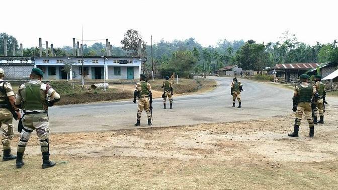 Nagaland poll security