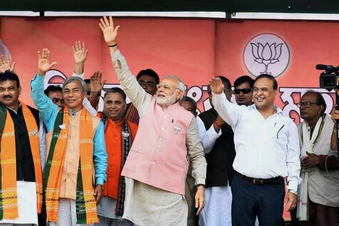 PM Narendra Modi during an election in Tripura. (File photo)