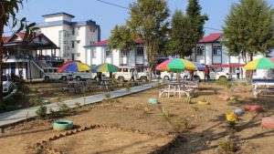 New complex of Champhai College.