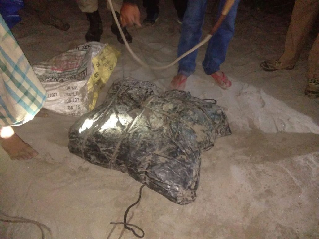 Materials used for poaching in Kaziranga National Park recovered at Biswanath 1