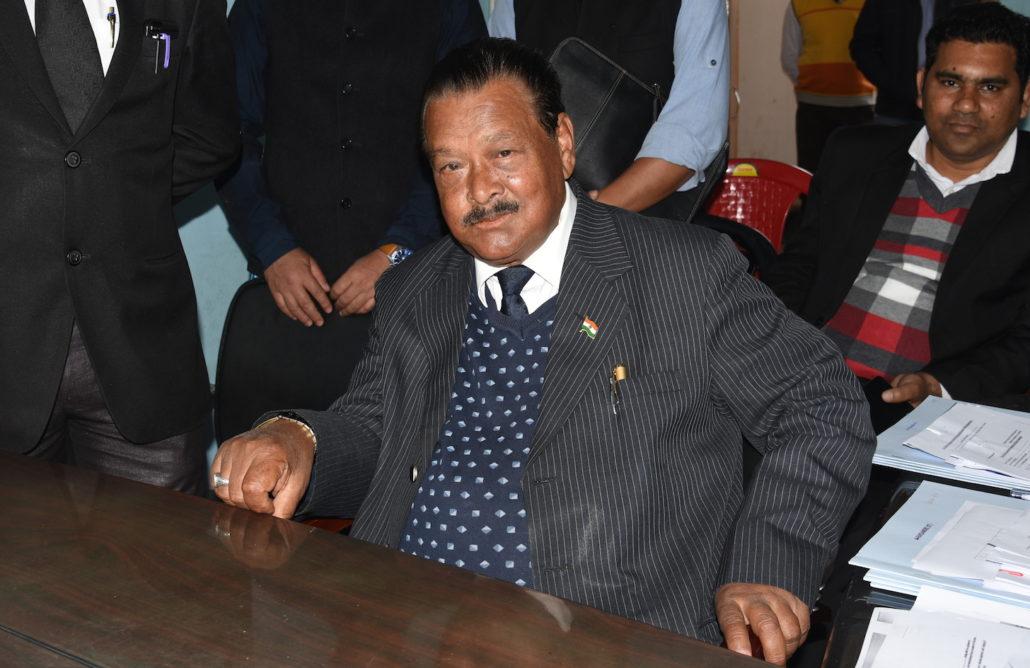 Sayedullah Nongrum former minister and ind candidate Tikrikilla