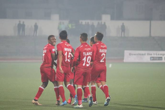Shillong Lajong defeat Aizawl FC 2-1 at home in crucial game 1