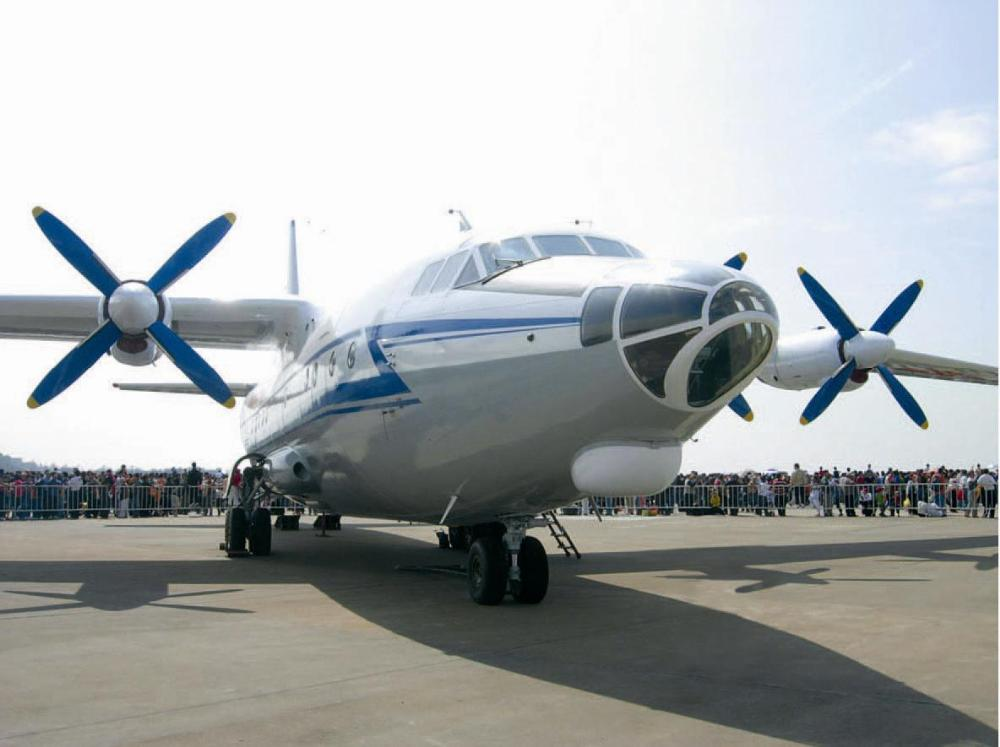 Y-8 transport aircraft