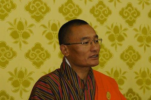 Bhutan PM Tshering Tobgay