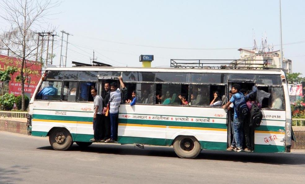 ghy city bus