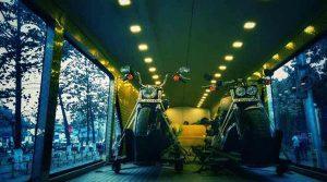 harley davidson bus interior