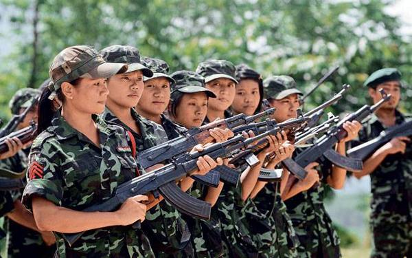 insurgency decreases in ne