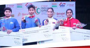 Boxers MC Mary Kom, Pwilao Basumatary, Lovlina Borgohain clinch gold in India Open Boxing Tournament 4
