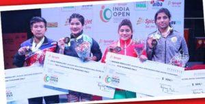 Boxers MC Mary Kom, Pwilao Basumatary, Lovlina Borgohain clinch gold in India Open Boxing Tournament 1